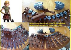 HTTYD Astrid Costume, Bird Skulls and Spikes for Cosplay Costume, How To Train Your Dragon DIY Astrid Skirt and Necklace by NefertariCrafts on Etsy https://www.etsy.com/listing/275771092/httyd-astrid-costume-bird-skulls-and