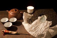 Puerh tea, via Flickr.