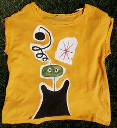 Un Alieno è per sempre! _ Hand-painted t-shirt by TonT-shirt