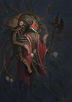Tech-Priest Magos by Rotaken