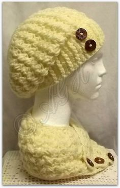 Absolutely Love,Love,this hat&neckwarmer set. Would really like to make some for the Michigan Chapter of Crochet for Cancer    <3