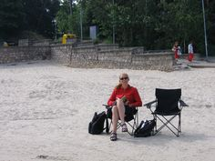 Jurmala beach at a lonely spot - by TravEllenineurope.com