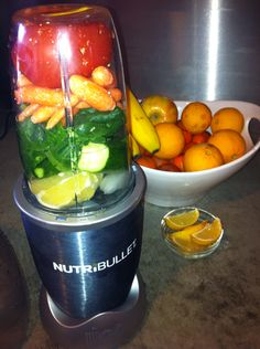Nutribullet V8 Juice I friggin love v8! Cant believe I havent thought of this as long as I've had my nutri bullet!