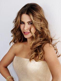 Sofia Vergara. I love modern family! Plus me and Sofia have the same birthday~Athena