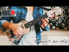 Count on Me - Bruno Mars (LydiaZ Ukulele Cover) Moon River, Bruno Mars, Ukulele, Counting, Songs, Cover, Youtube, Blankets, Youtube Movies