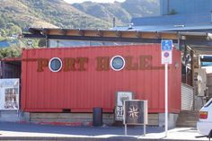 Shipping container pub