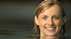 At the 2012 Olympics, swimming Katie Ledecky won the gold medal in the freestyle — an event that requires competitors to turn 15 times! Katie Ledecky, Iconic Women, Flipping, Olympics, Strength, Amazing, Tips, Style, Swag
