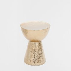 HAMMERED METAL STOOL - Bedroom - Gypset - Shop by collection | Zara Home United States of America