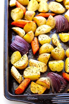 This easy Roasted Root Vegetables recipe is simple to make, and is made all the more delicious with one special ingredient.