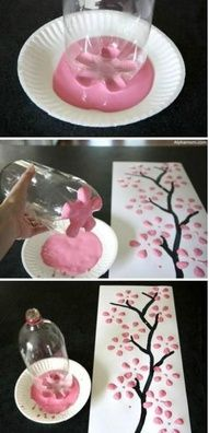 DIY Art diy crafts home made easy crafts craft idea crafts ideas diy ideas diy crafts diy idea do it yourself diy projects diy craft handmade diy art craft art by Mibralegare Kids Crafts, Spring Crafts For Kids, Crafts To Do, Art For Kids, Craft Projects, Arts And Crafts, Craft Ideas, Easy Crafts, Spring Projects