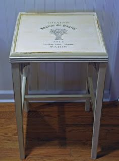 Midwest Cottage & Finds: Annie Sloan Chalk Paint End Table Makeover