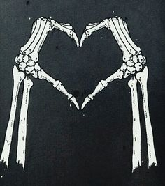 Image de love, skeleton, and bones Skeleton Love, Skeleton Art, Skeleton Hands, Wallpaper Caveira, Look Wallpaper, Illustration, Arte Horror, Skull And Bones, Skull Art