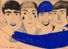 The Beatles by Inma Lorente
