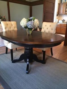 refinished dining room tables | Oak Dining Table | Dining Tables ...