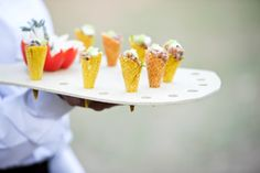 passed tuna cones from Windows Catering  photo by: Kate Headley