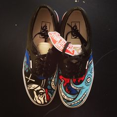 After detail.... Kill the KRAKEN! New SLOTH Vans :) ✖✖ #iamsloth #vans #fashion @vans_66