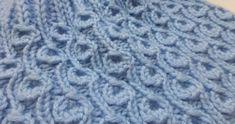 "Cómo hacer Knit * Knitting Stitch ""diente de león"""