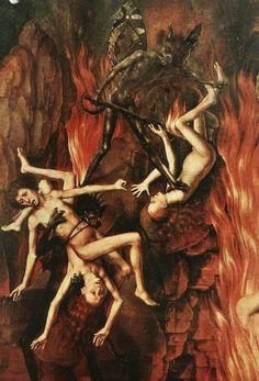 Hieronymus Bosch - Last Judgement Hieronymus Bosch, Arte Horror, Horror Art, Hans Memling, Renaissance Kunst, Pieter Bruegel The Elder, Satanic Art, Arte Obscura, Jan Van Eyck