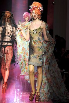 Jean Paul Gaultier Spring 2012 Couture Fashion Show - Karlie Kloss (IMG)