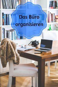 Büro organisieren und Computer ordnung