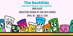 The SockKids by Michael John Sullivan Book Blast & $50 Giveaway Broken Series, John Sullivan, Crazy Socks, Anti Bullying, Social Issues, Teaching Kids, Encouragement, Writing, Cancer