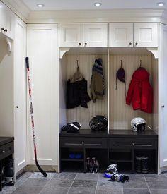 Anne Hepfer Designs - laundry/mud rooms - kids mudrooms, boys mudrooms, mudroom cabinets, floor to ceiling lockers, floor to ceiling mudroom...