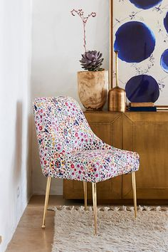 Slide View: 7: Badia-Printed Elowen Chair