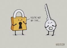 You're Not My Type by Naolito.deviantart.com on @DeviantArt