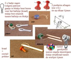 how to: mini yo-yo and other vintage toys