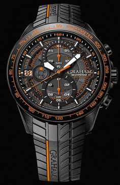 Graham - Silverstone RS Endurance 12HR. New generation of Silverstone chronographs.