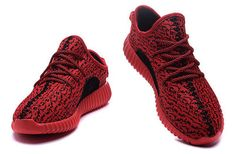 new photos e0416 bfc5d Mens Shoes Adidas Yeezy Boost 350 Red More Chaussures Femme, Chaussures  Adidas Rouge, Chaussures