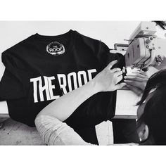 The Roof Main Logo Tee  During the production process in our factory