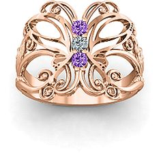 Precious Butterfly Ring #jewlr