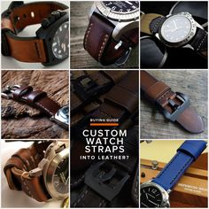 We round up seven of the best custom watch strap makers around.