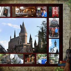 harry potter scrapbook layouts pictures | Potter2