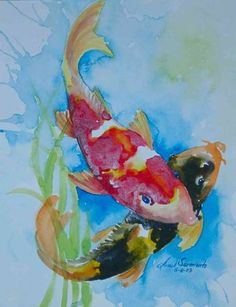 Koi - 4  arnel's artworks