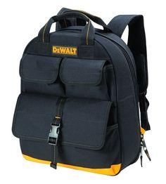 DeWalt DGC530 USB Charging Tool Back Pack (23 Pocket), Black/Yellow