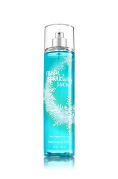 Fresh Sparkling Snow Fine Fragrance Mist - Signature Collection - Bath & Body Works