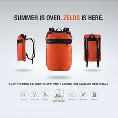 O-range Modern Smart and Innovative Travel Backpack Bag Italy f8c69f330404b