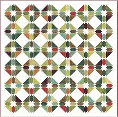 Green Gables Quilt Pattern | FaveQuilts.com