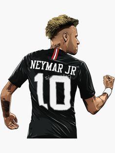 Nike Football Kits, Football Is Life, Soccer Kits, Football Art, Football Player Drawing, Soccer Drawing, Football Players, Neymar Barcelona, Neymar Jr Wallpapers