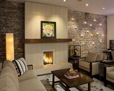 Modern Fireplace Design, Pictures, Remodel, Decor and Ideas - page 18
