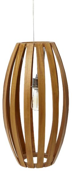 Bentwood Pendant - Barrel - See more at…