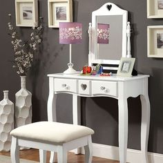 Luxury Makeup Station for Kids