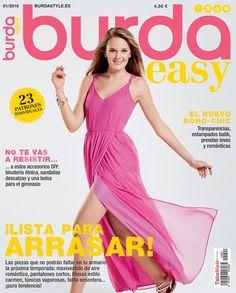 La Dalia Azul. Costura...y lo que surja: Revistas que NO me compro: Burda Easy 01/2016