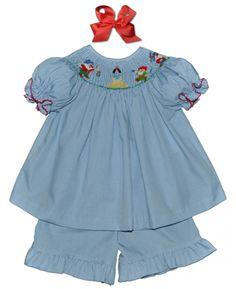 Snow White short set for Makenna's first Disney trip next year.