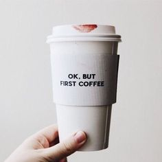 but first coffee I Love Coffee, Coffee Break, My Coffee, Coffee Drinks, Morning Coffee, Coffee Shop, Coffee Cups, Coffee Lovers, Ok But First Coffee