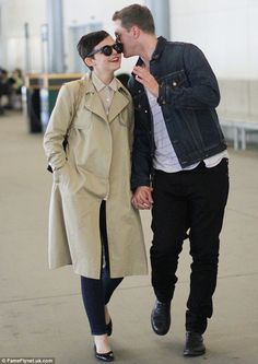 Enchanted: Once Upon a Time co-stars and real-life couple Ginnifer Goodwin and Josh Dallas hold hands during a stroll in Vancouver on Sunday