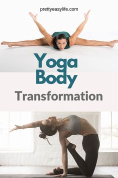 Weight loss and yoga might not look like they go side by side. The reason is that lots of people view yoga as stress release or tone muscle. Bikram Yoga, Ashtanga Yoga, Yin Yoga, Kundalini Yoga, Yoga Fitness, Fitness Tips, Workout Fitness, Yoga Body Transformation, Yoga Nature