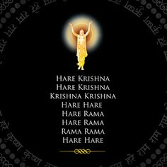 The Hare Krsna Maha-mantra Should be the Primary Mantra in all ISKCON Kirtans Hare Krishna Mantra, Hare Rama Hare Krishna, Krishna Leela, Jai Shree Krishna, Radha Krishna Quotes, Krishna Radha, Hanuman, Good Night Hindi Quotes, Spirituality
